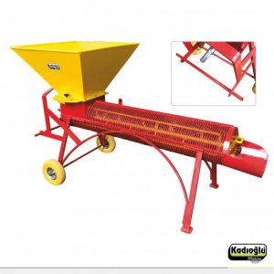 Kadıoğlu BKS200T Almond Peeling Machine with Tractor Attachment
